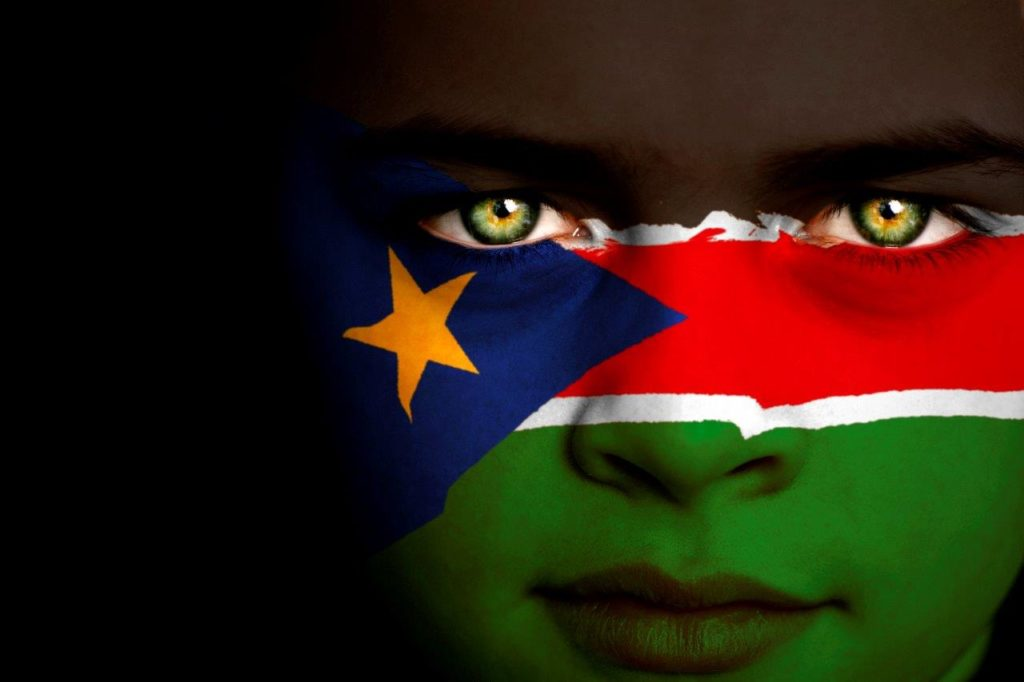 MealEspoirs - Actions - Credit Duncan1890 - The South Sudanese flag